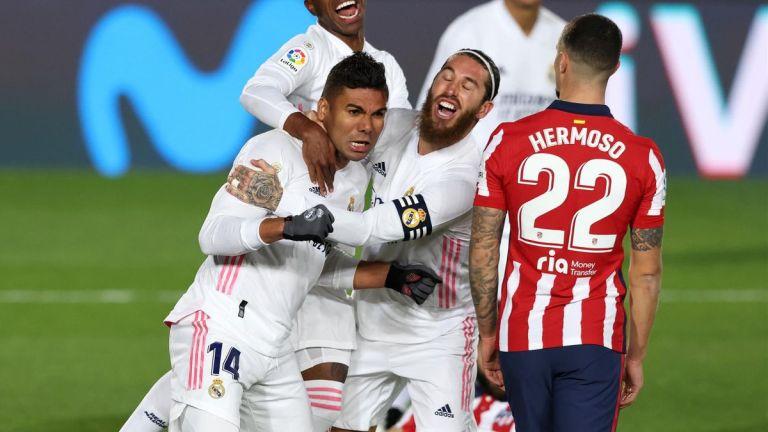 Real Madrid Putus Rekor Tak Terkalahkan Atletico Madrid di La Liga 2020/21