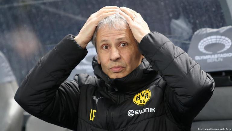 Lucien Favre Dipecat setelah Dortmund Dibantai Stuttgart