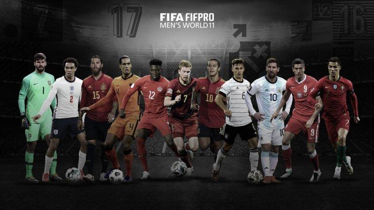 Starting XI Pemain Terbaik 2020 Versi FIFPRO