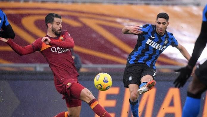 Nyaris Comeback dari AS Roma, Inter Milan Gagal Pepet AC Milan di Pucuk Klasemen