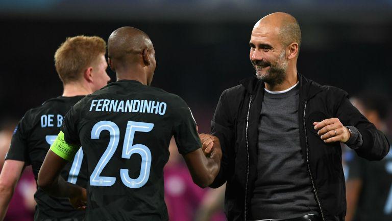 Pep Guardiola: Fernandinho Adalah Pemain Penting Sejak Saya Tiba di Manchester City