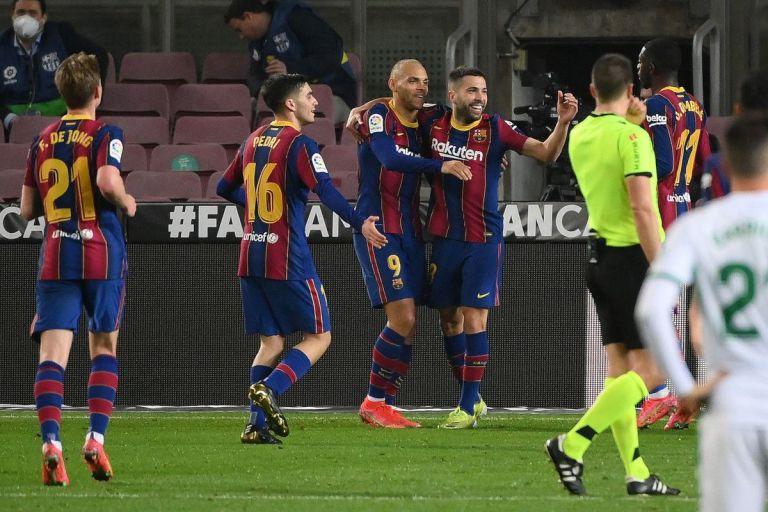 Barcelona Menang 3-0 dari Elche, Jordi Alba: Ini Akan Meningkatkan Kepercayaan Diri Tim!