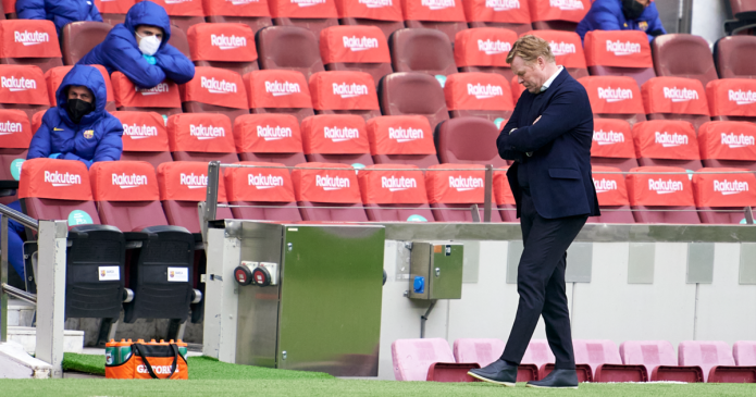 Ronald Koeman Kecewa Barcelona Gagal Raih Tiga Poin dari Cadiz