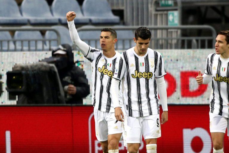 Cristiano Ronaldo Hattrick Dalam 32 Menit, Juventus Curi Tiga Poin dari Cagliari