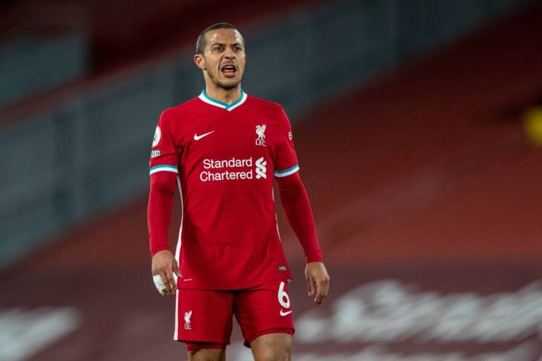 Thiago Alcantara Frustrasi dengan Hasil Buruk yang Dialami Liverpool