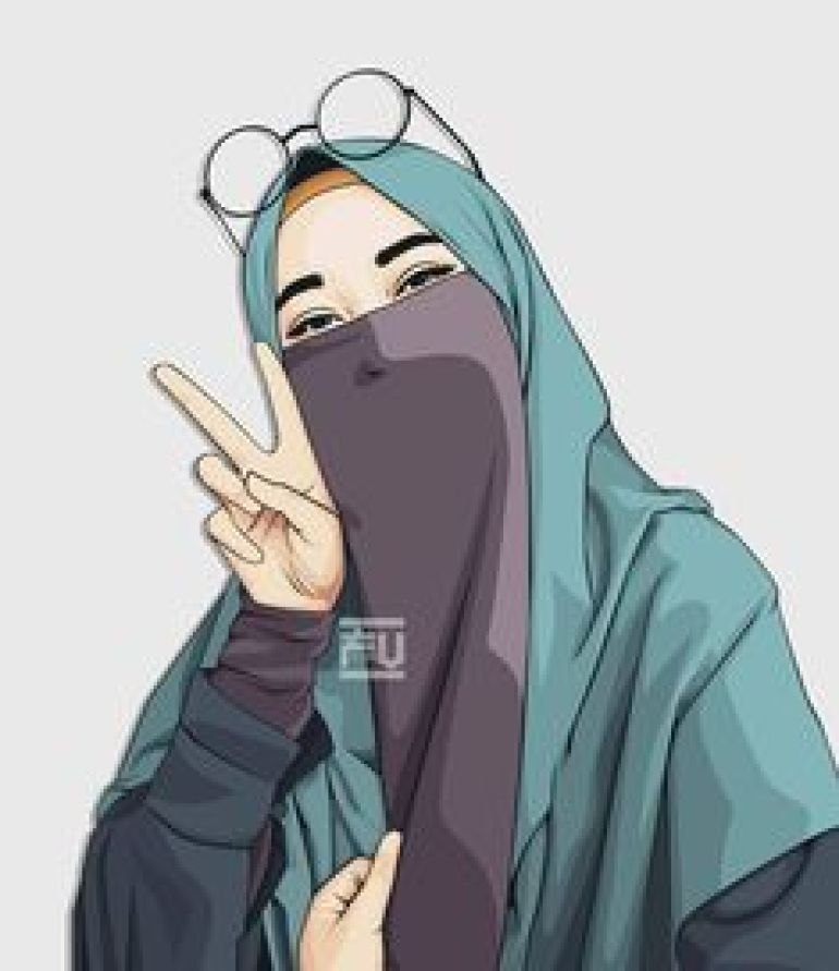 Download 440 Koleksi Wallpaper Animasi Hijab HD Paling Keren