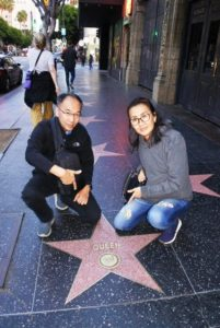 Queen Walk of Fame