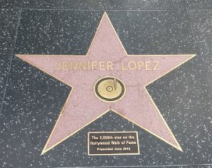 Jennifer Lopez Walk of Fame