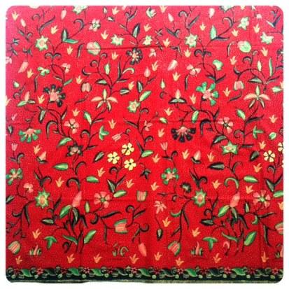 Batik Cirebon - Tumpal
