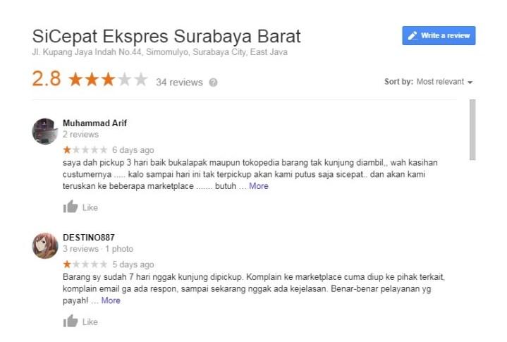 Pengalaman Menggunakan Pengiriman Sicepat Surabaya