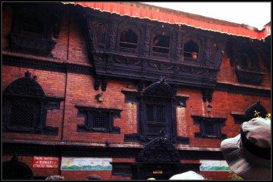 The same place I saw Kumari - did you see the guard?