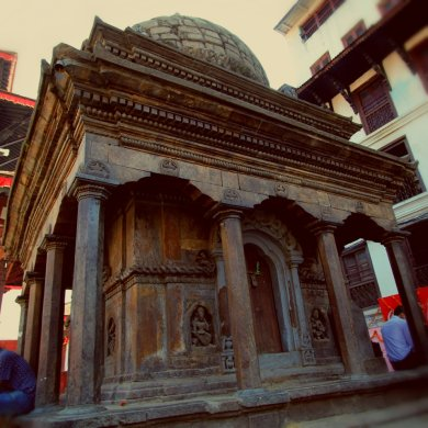 The strong Bimaleshwar Temple