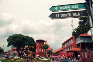 A Start to Walk in Melaka