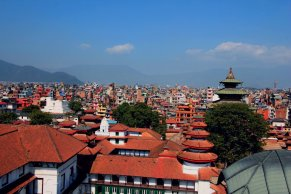View of Kathmandu from Basantapur