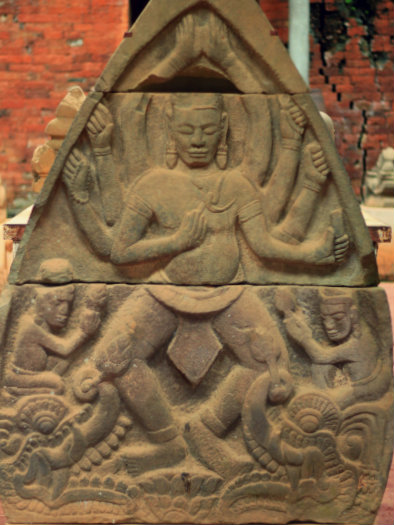 Decor above the Temple's Door
