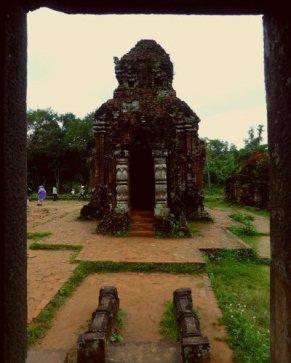 Main Temple in Group C with Gajalakshmi