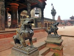 Morning in Bhaktapur Durbar Square