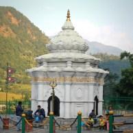 A Shrine at Manakamana Cablecar St.
