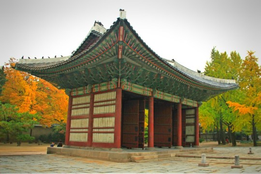 Gate in front of Junghwajeon
