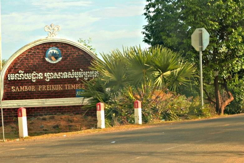 Clear Sign to Sambor Prei Kuk