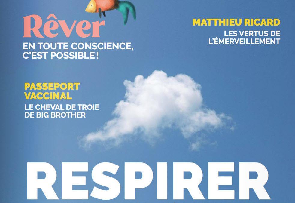 Interview du CERO-France dans le dernier Nexus mais 2021.