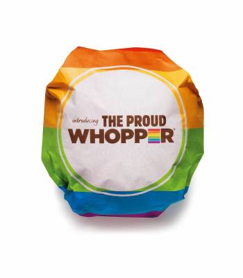 "#VIDEO: Burger King crea ""Proud Whopper"" celebrando Desfile Orgullo Gay"