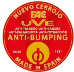 Cerradura anti bumping Cenes de la Vega