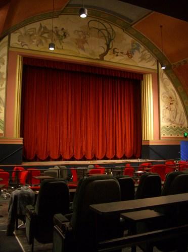 Refurbished theater