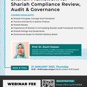 shariah compliance review workshop