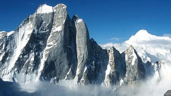Daniel Ahnen - als Bergfilmer am Arwa Spire, Himalaya