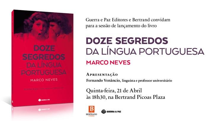 Convite Doze Segredos