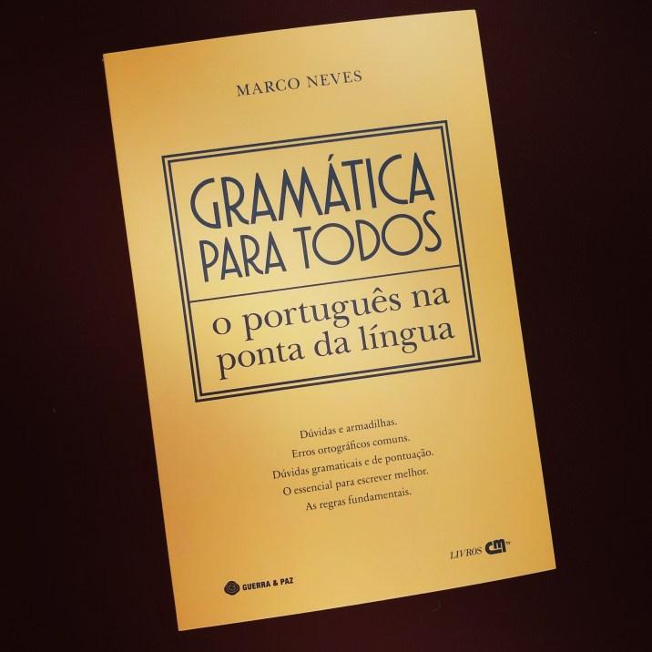 Gramática Para Todos O Português Na Ponta Da Língua