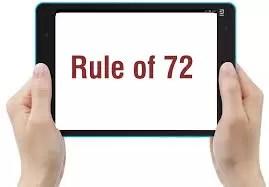 Finance as per Rule of 72 ?