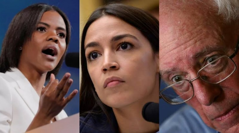 Candace Owens goes NUCLEAR at AOC and Bernie Sanders