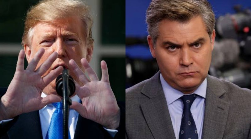 President Trump Humiliates CNN's Jim Acosta By this Singular Act