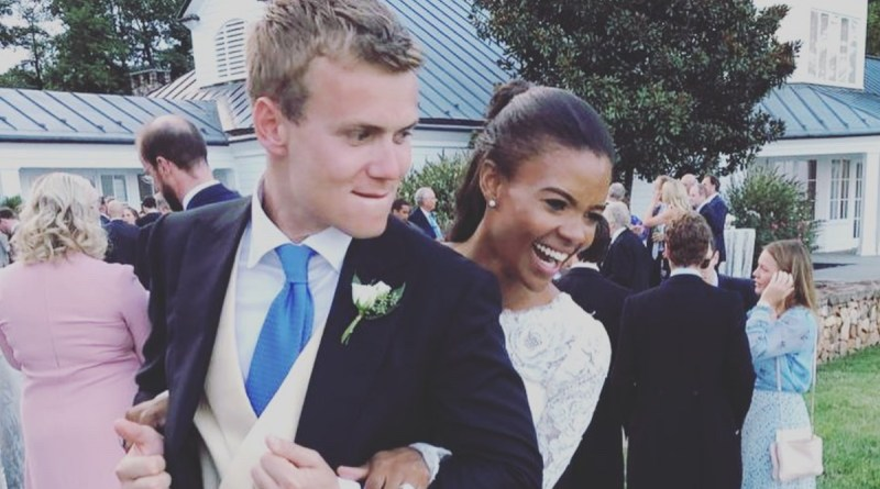 Candace Owens leaks Photos of her Wedding