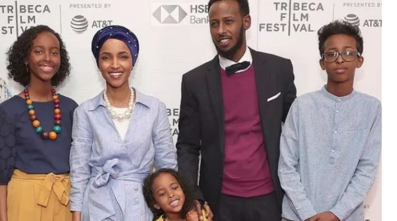Angry Ilhan Omar's Alleged Husband files for a Divorce