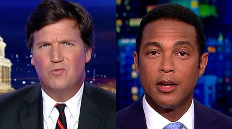 Tucker Carlson Smartly Leaves CNN's Don Lemon speechless