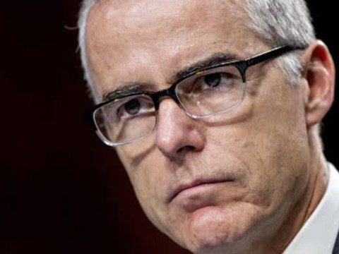 Federal Judge Demands charges be filed against Andrew McCabe