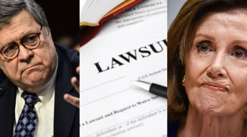 Conservative watchdog slams Nancy Pelosi with Fresh lawsuit over illegal impeachment proceedings