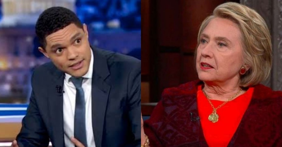 Trevor Noah Rips Hillary Clinton with one burning question
