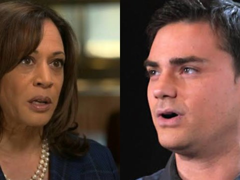 """Groundbreaking Candidacy"" Ben Shapiro mocks the end of Kamala Harris"