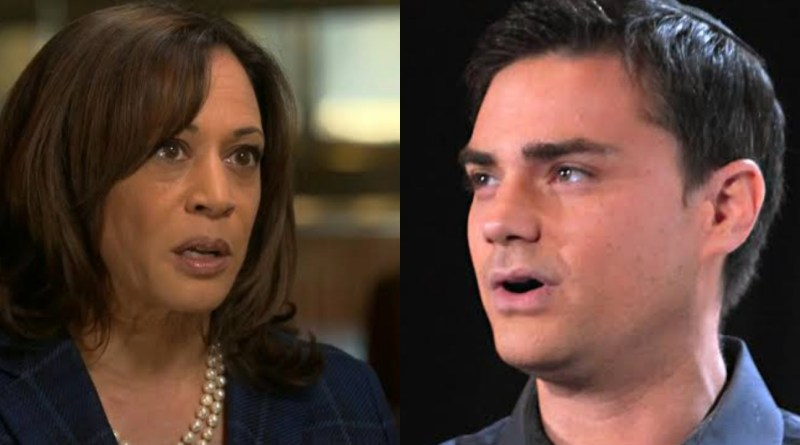 """""""Groundbreaking Candidacy"""" Ben Shapiro mocks the end of Kamala Harris"""