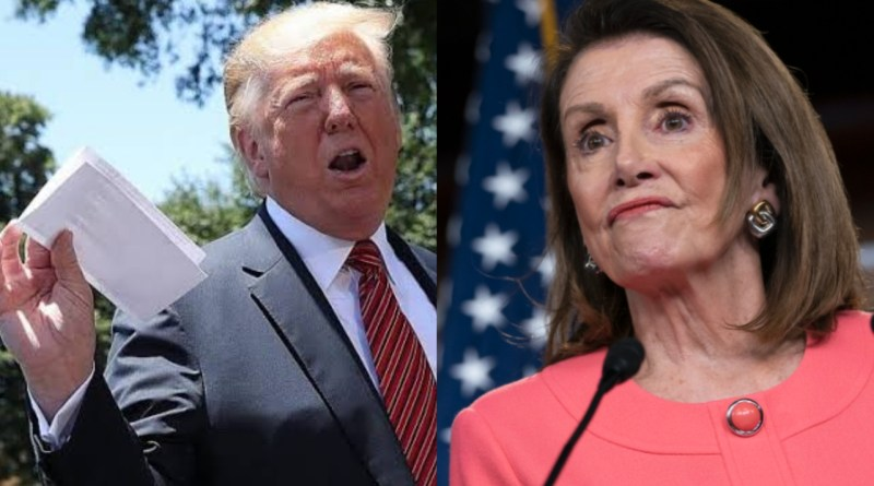 """She's a Sick Puppy"" President Trump Epically Unloads on Nancy Pelosi"