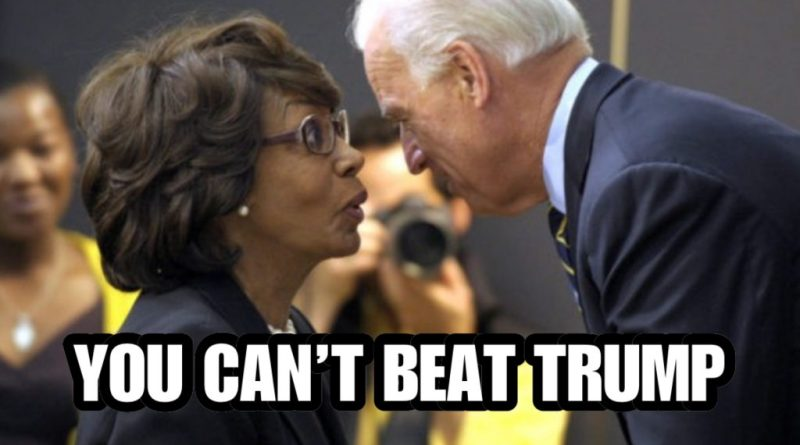 """""""BIDEN CAN'T BEAT TRUMP"""" Crazy Maxxine Waters Opens up On Dems Failure"""