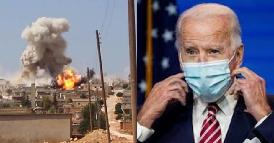 President Joe Biden Bombs Syria in response to Iran attacks on U.S in iraq