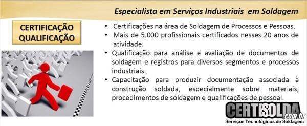 CERTIFICAÇÃO DE PROCESSOS E PESSOAL