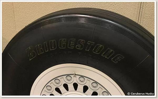 ボーイング747の車輪