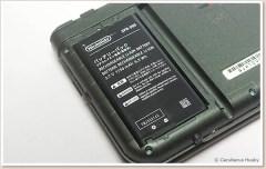 Nintendo 3DSのバッテリー