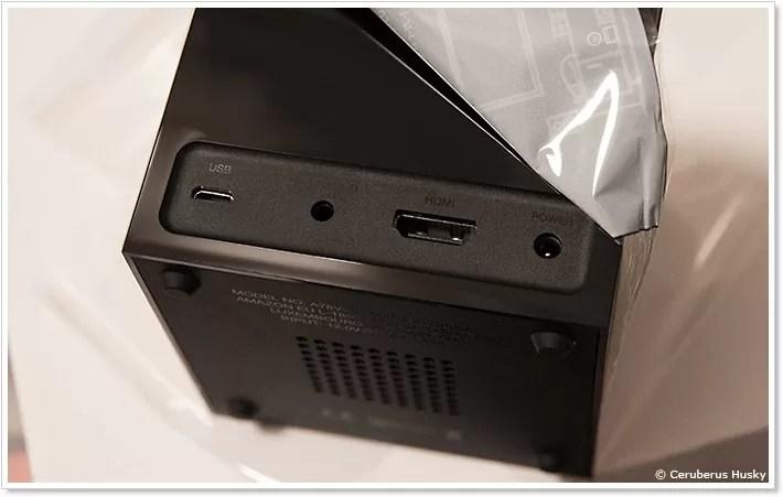 Fire TV Cubeの入出力端子